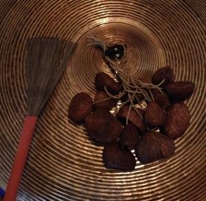 shells on cymbal